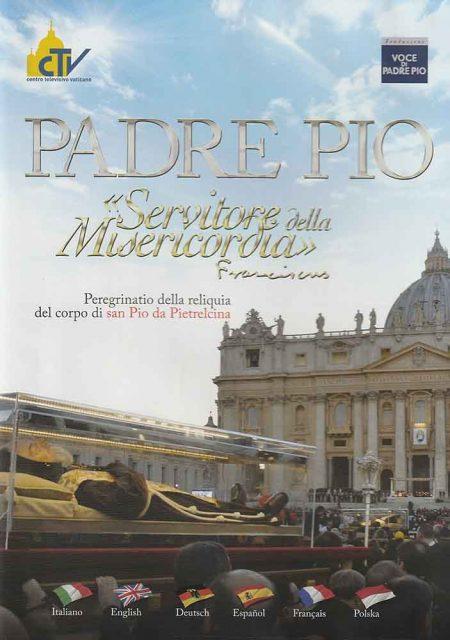 """DVD0006 - PADRE PIO """"Servitore della Misericordia"""" DVD"""