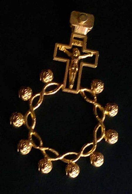 RA0003D - METAL ROSARY RING