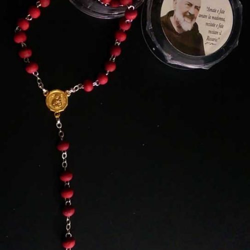 RA0004 - SCENTED ROSARY CELTIC CROSS