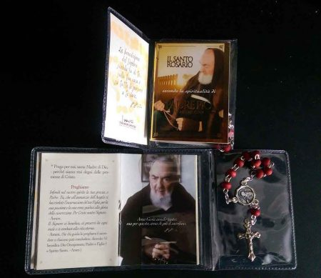 HOLY ROSARY BOOKLET WITH ONE DECADE ROSARY - RA0014