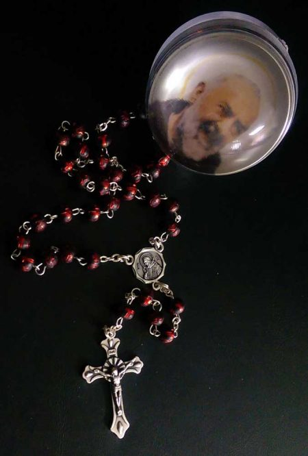 RA002 - SCENTED WOODEN ROSARY