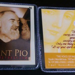 RA0029 - PADRE PIO RELIC - BADGE